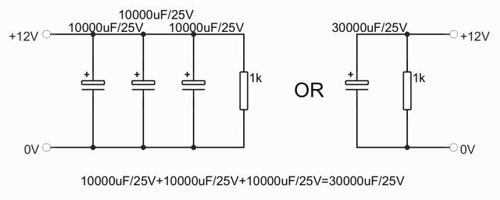 battery eliminator is electrolyte capacitor and work on most bikes with cdi  ignitions  capacitance should be between 30000 – 45000uf/25v